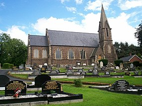 Brackaville Holy Trinity Parish Church, Coalisland - geograph.org.uk - 904878.jpg