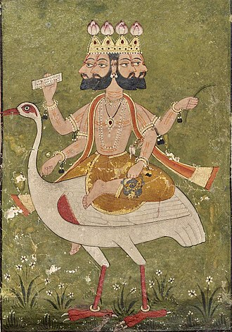 Ravana - Brahma-Ravana's great grand father.