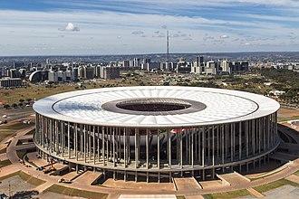 Garrincha - Estádio Nacional Mané Garrincha in Brasilia.