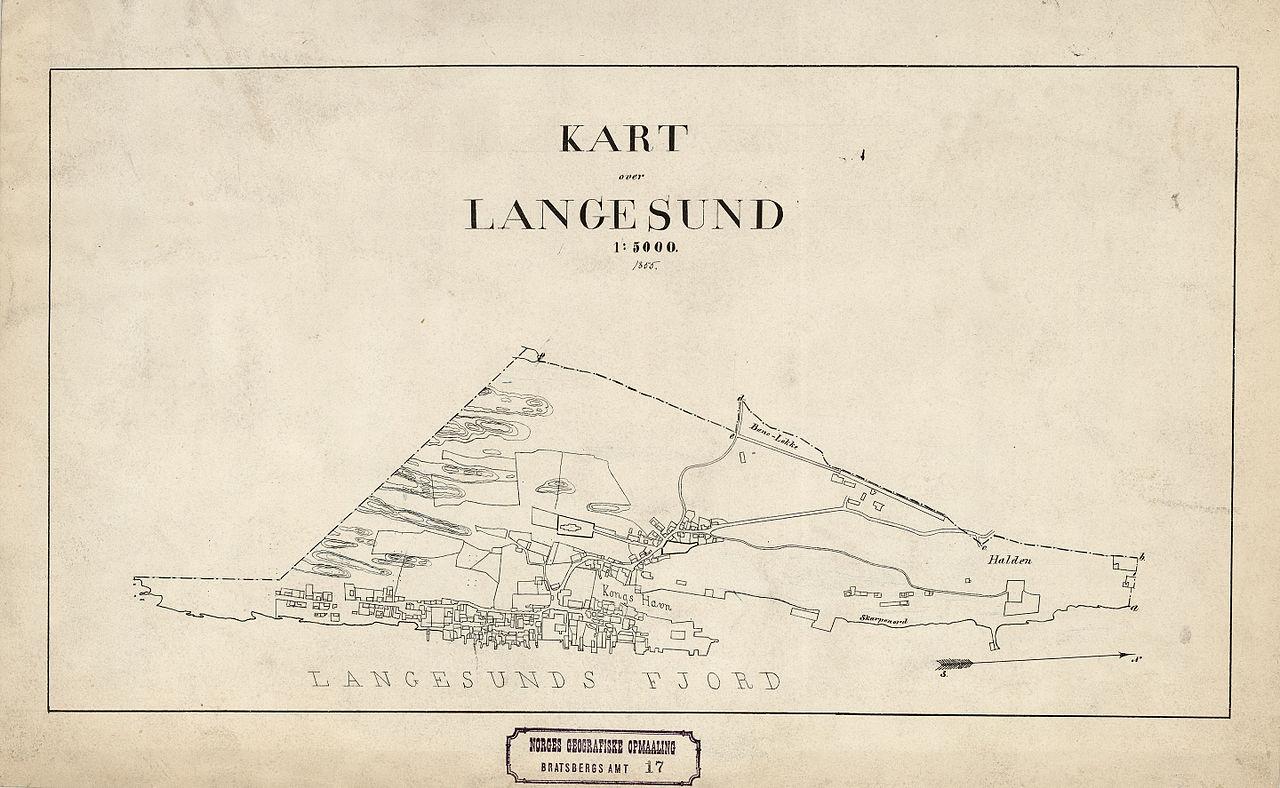 1880 kart norge File:Bratsberg amt nr 17  Kart over Langesund, 1880.  1880 kart norge