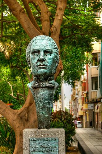 Juan Bravo Murillo - Bust of Bravo Murillo in Las Palmas de Gran Canaria.