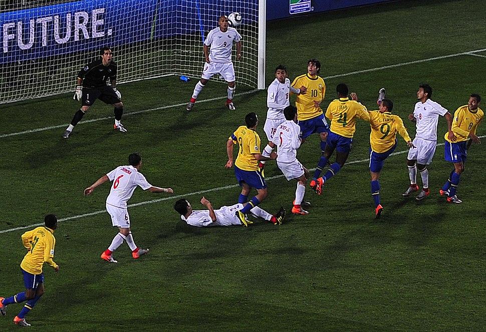 Brazil & Chile match at World Cup 2010-06-28 1