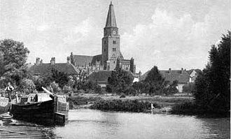 Bishopric of Brandenburg - The Cathedral of Ss. Peter and Paul in Brandenburg, 19th century