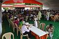 Breakfasting Bhaktas - Rawatpura Sarkar Ashram - Chitrakoot - Satna 2014-07-05 6369.JPG