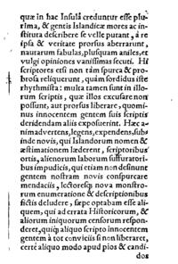 Brevis commentarius de Islandia cover