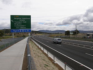 Southern Transport Investment Program - Image: Bri bypass from Estate 4