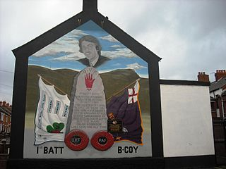Brian Robinson (loyalist) British loyalist