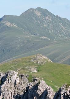 Bric Costa Rossa Mountain in Italy