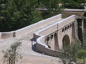 Battle of Ponte Novu - Image: Bridge of Ponte Novu Corsica 2008 cobblestone