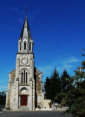 Brie, Deux-Sèvres - Image: Brie église