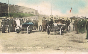 Brighton Speed Trials - The first event, July 1905