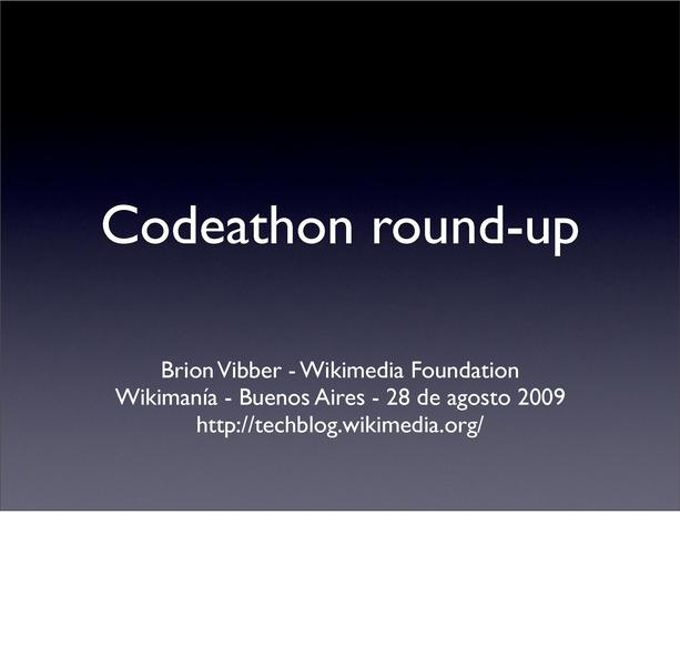 File:Brion Vibber - 2009 Wikimania Codeathon roundup.pdf