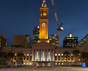 Lists of tourist attractions - List of attractions in Brisbane (Brisbane City Hall)