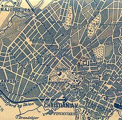 gamle oslo kart Briskebylinjen – Wikipedia gamle oslo kart
