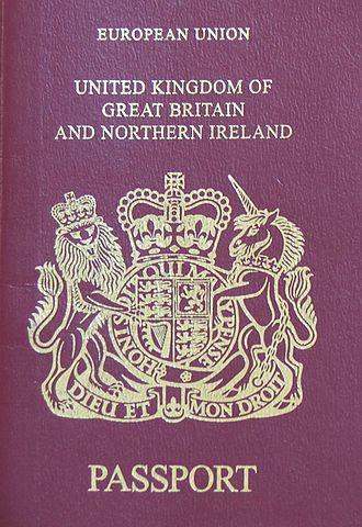 Terminology of the British Isles - A UK passport