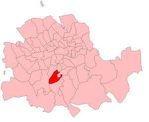 Brixton (UK Parliament constituency) - Image: Brixton 1885