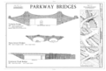 Bronx River Parkway Reservation, The Bronx to Kensico Dam, White Plains, Westchester County, NY HAER NY-327 (sheet 14 of 22).png