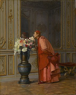 Brooklyn Museum - An Embarrassment of Choices, or A Difficult Choice (Un Embarras du Choix) - Jehan-Georges Vibert - overall