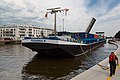 Bruges Belgium Cargoship-Natasha-N-in-Dampoort-Lock-01.jpg