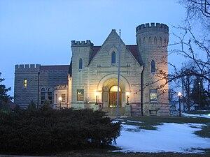 National Register of Historic Places listings in Van Wert County, Ohio - Image: Brumback Library, Van Wert