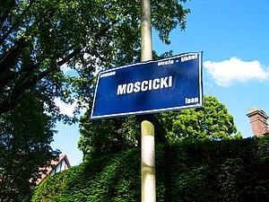 Ignacy Mościcki - Brussels, Mościcki Avenue