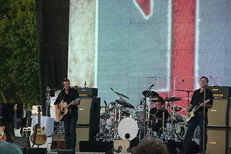 11 (Bryan Adams album) - Adams on stage during his tour promoting 11 in Paso Robles, California, US on July 30, 2008
