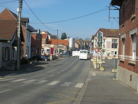 The centre of Bucquoy