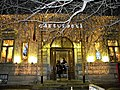 Bucuresti, Romania. LIBRARIA CARTURESTI - VERONA . Noaptea, Libraria este totusi frecventata de tineri (B-II-m-B-19834).jpg