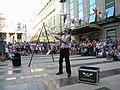 Bucuresti, Romania. Teatrul ODEON. (B-II-m-B-19854). B-FIT IN THE STREET 2018. Bubble Street Cirkus. Jongleorul Juriy Longhi. (3).jpg