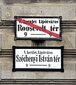 Budapest, Szécheny-Roosevelt tér, utcanév-táblák.jpeg