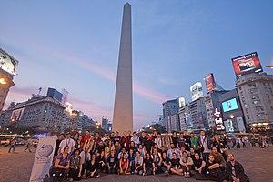 Wikimania - 2009 group photo