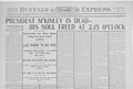 Buffalo Morning Express, Theodore Roosevelt Inaugural National Historic Site, 1901. (9760632f142e42e7ac6b222177f34a5f).jpg