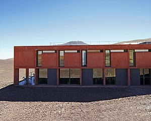 ESO Hotel - Image: Building the Paranal Residencia — From Turbulence to Tranquility (present day image)