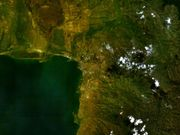 NASA photo of the Bujumbura region.