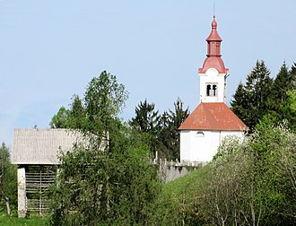 Bukovo, Cerkno - Saint Leonard's Church