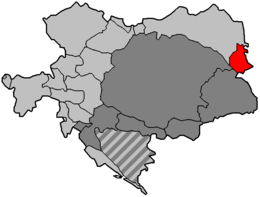 Location of Bukovina