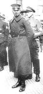 Hermann Ehrhardt German Freikorps commander
