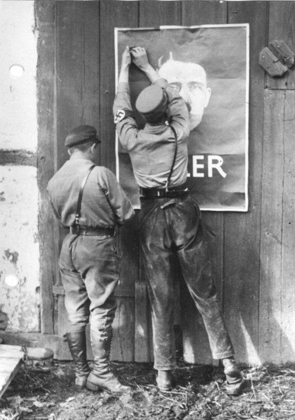 Bundesarchiv Bild 146-1978-096-03, Mecklenburg, Wahlpropaganda der NSDAP