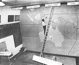 Bankstown Bunker - Bankstown bunker in 1945