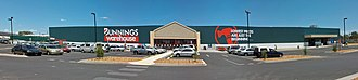Bunnings Warehouse - A Bunnings Warehouse store built in 2009.