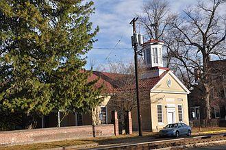 St. Mary's Episcopal Church, Burlington, New Jersey - Image: Burlington NJ Old St Marys Church