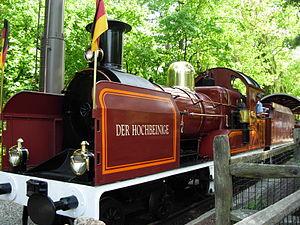 Crown Metal Products - German styled Crown engine at Busch Gardens Williamsburg.