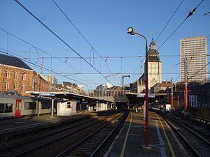 Brussels-Chapel railway station
