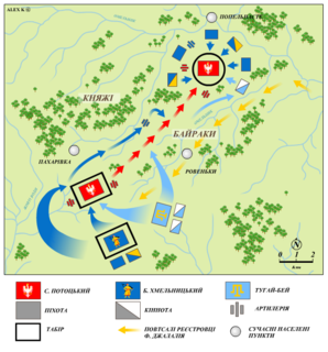Battle of Zhovti Vody battle