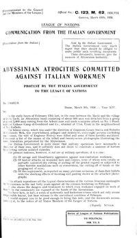 Second Italo-Ethiopian War - Wikipedia