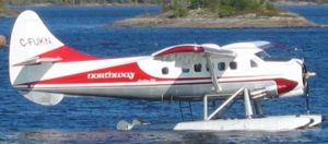 History of aviation in Canada -  Otter floatplane in Manitoba