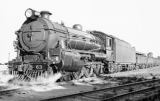 Commonwealth Railways C class - C63 in 1938