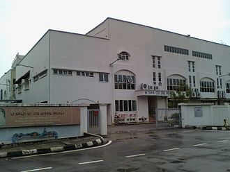 Christianity in Malaysia - Church of the Divine Mercy in Shah Alam. The church was built in an industrial area.