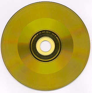 CD Video Hybrid analogue video/digital audio format