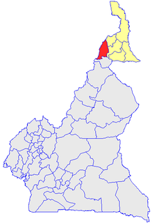 Mayo-Tsanaga Department in Extreme-Nord Province, Cameroon
